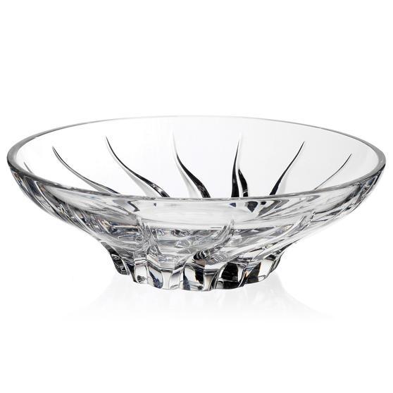 RCR 24657020106 Trix Italian Crystal Decorative Centrepiece Bowl | Ideal for Fruits, Flowers & Potpourri