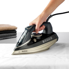 Beldray® BEL0820PL Ultra Ceramic Steam Iron with Dual Soleplate Technology, 3100 W, 300 ml, Platinum Edition Thumbnail 5