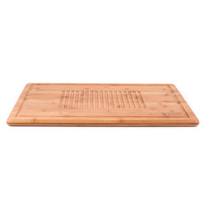 Russell Hobbs® RH00380EU Bamboo Meat Carving Board | Ideal For Slicing & Serving, 50.8 x 35 cm Thumbnail 4