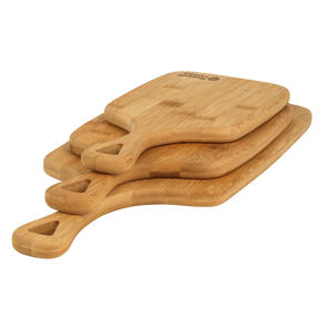 Russell Hobbs® RH01971 3 Piece Bamboo Paddle Chopping Board Set   Strong and Durable   Protects Kitchen Worktops   Reversible Thumbnail 5