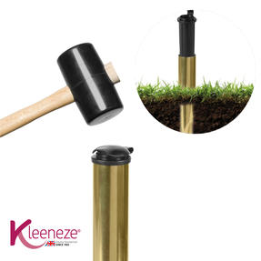 Kleeneze® KL080394EU7 Heavy Duty Metal Ground Spike with Waterproof Safety Cover, 40 cm Thumbnail 2