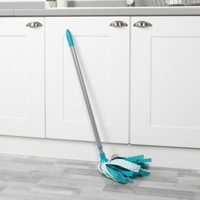 Beldray® LA076571EU7 Triple Action Microfibre Mop with Telescopic Handle | Ideal for Tile, Laminate and Wood Flooring | Non-Scratch Thumbnail 9