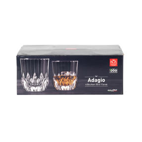 RCR 25745020106 Adagio Crystal Short Whisky Water Tumbler Glasses, Set of 6 Thumbnail 4