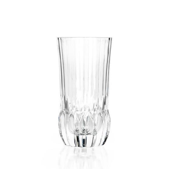 RCR 25934020206 Adagio Crystal Hi-Ball Tumblers Glasses, Set of 6
