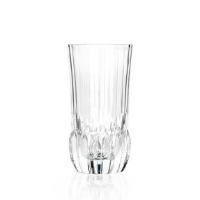 RCR 25934020206 Adagio Crystal Hi-Ball Tumblers Glasses, Set of 6 Thumbnail 1