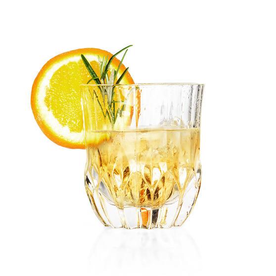 RCR 25954020106 Trix Crystal Short Whisky Water Tumbler Glasses, Set of 6