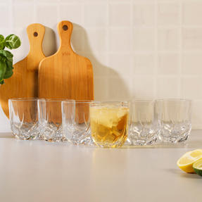RCR 25954020106 Trix Crystal Short Whisky Water Tumbler Glasses, Set of 6 Thumbnail 4
