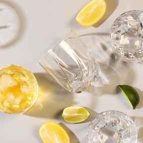 RCR 25954020106 Trix Crystal Short Whisky Water Tumbler Glasses, Set of 6 Thumbnail 5