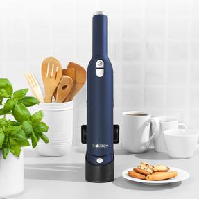 Beldray® BEL01163 Revo Digital Cordless Handheld Vacuum Cleaner with Brushless Motor Technology |Soft Touch Finish |Blue | 11.1 V Thumbnail 3