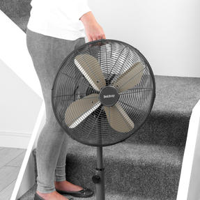 "Beldray® EH3263PL 16"" Standing Pedestal Fan with Adjustable Height 