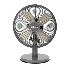 "Beldray® EH3266PL 10"" Desk Fan with 3 Speed Settings and Adjustable Head 