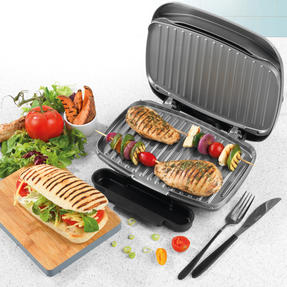 Salter® Cosmos Health Grill | 1000 W | Non-Stick Coating | Removable Drip Tray Thumbnail 2