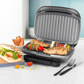 Salter® Cosmos Health Grill | 1000 W | Non-Stick Coating | Removable Drip Tray Thumbnail 3