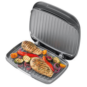 Salter® Cosmos Health Grill | 1000 W | Non-Stick Coating | Removable Drip Tray Thumbnail 5
