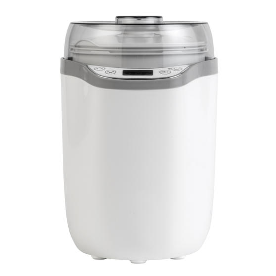 Progress® Yoghurt and Soft Cheese Maker | 1.6 L | Strainer Included | LED Display | 25 W