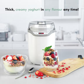 Progress® EK4374P Yoghurt and Soft Cheese Maker | 1.6 L | Strainer Included | LED Display | 25 W Thumbnail 2