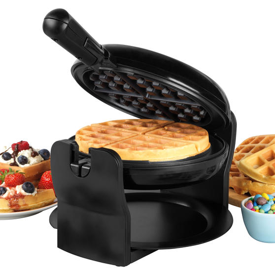 Progress® EK4376P Rotary Non- Stick Waffle Maker, 1000W