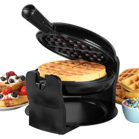 Progress® EK4376P Rotary Non- Stick Waffle Maker, 1000W Thumbnail 1
