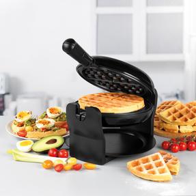 Progress® EK4376P Rotary Non- Stick Waffle Maker, 1000W Thumbnail 2