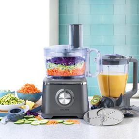 Salter® EK4382GUNMETAL Cosmos Food Processor and Blender   600 W   2 Speed Settings with Pulse Function Thumbnail 2