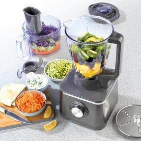 Salter® EK4382GUNMETAL Cosmos Food Processor and Blender   600 W   2 Speed Settings with Pulse Function Thumbnail 3