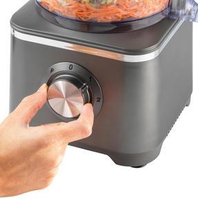 Salter® EK4382GUNMETAL Cosmos Food Processor and Blender   600 W   2 Speed Settings with Pulse Function Thumbnail 4