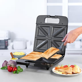Progress® EK4424P Family Toastie Maker | 1400 W | Automatic Temperature Control | Non-Stick | Creates up to 4 Different Toasties at Once Thumbnail 2
