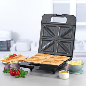 Progress® EK4424P Family Toastie Maker | 1400 W | Automatic Temperature Control | Non-Stick | Creates up to 4 Different Toasties at Once Thumbnail 3