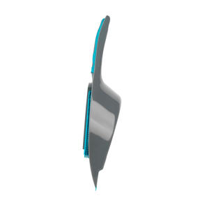 Beldray® LA081278EU7 Pet Plus+ 2 In 1 Lift & Trap Dual Rubber Head Dustpan And Brush with Squeegee Edge, Turquoise/Grey Thumbnail 8