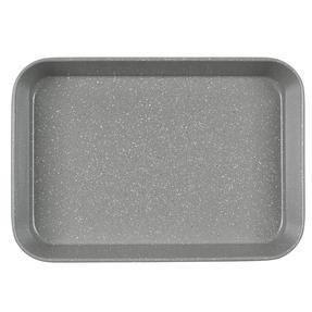 Salter® BW10156 Marblestone Deep Roaster | PFOA Free | Carbon Steel | 40cm | Grey Marble Thumbnail 5