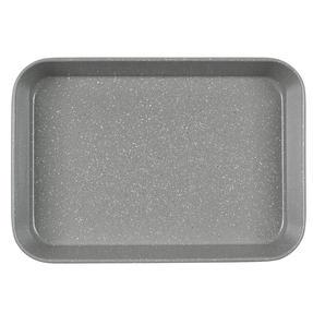 Salter® BW10156 Marblestone Deep Roaster | PFOA Free | Carbon Steel | 40cm | Grey Marble Thumbnail 2