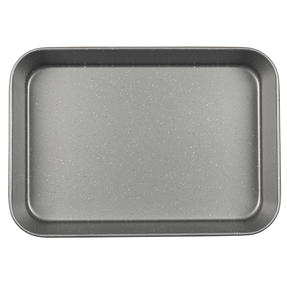 Progress® BW10158EU Metallic Marble Deep Roaster | Carbon Steel | 39cm | Oven Safe Upto 220° | Grey Marble Thumbnail 2