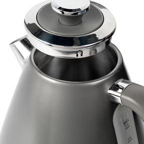 Salter® EK4296GUNMETAL Cosmos Kettle   1.7 Litre   3000W, Gunmetal Grey/Silver Accents   360 ° Swivel Base   Auto Shut Off   Boil Dry Sensor   Strix Controller Thumbnail 4