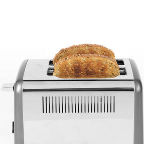 Salter® EK4326GUNMETAL 2-Slice Cosmos Toaster   Defrost, Reheat and Cancel Functions   6 Levels Of Variable Browning Control   Removable Crumb Tray   870 W   Gunmetal Thumbnail 5