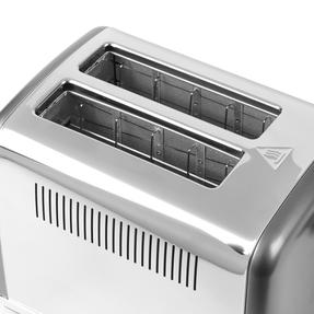 Salter® EK4326GUNMETAL 2-Slice Cosmos Toaster   Defrost, Reheat and Cancel Functions   6 Levels Of Variable Browning Control   Removable Crumb Tray   870 W   Gunmetal Thumbnail 7