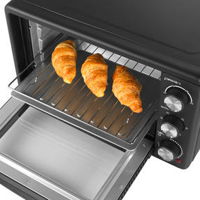 Salter® EK4360 25 Litre Toaster Oven  | Compact Design | Variable Temperature Control | 60-Minute Timer | Automatic Safety Shut-Off Thumbnail 3