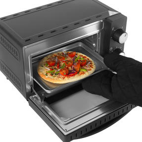 Salter® EK4360 25 Litre Toaster Oven  | Compact Design | Variable Temperature Control | 60-Minute Timer | Automatic Safety Shut-Off Thumbnail 4