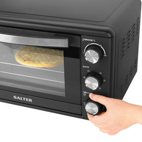 Salter® EK4360 25 Litre Toaster Oven  | Compact Design | Variable Temperature Control | 60-Minute Timer | Automatic Safety Shut-Off Thumbnail 5