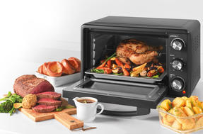 Salter® EK4360 25 Litre Toaster Oven  | Compact Design | Variable Temperature Control | 60-Minute Timer | Automatic Safety Shut-Off Thumbnail 6
