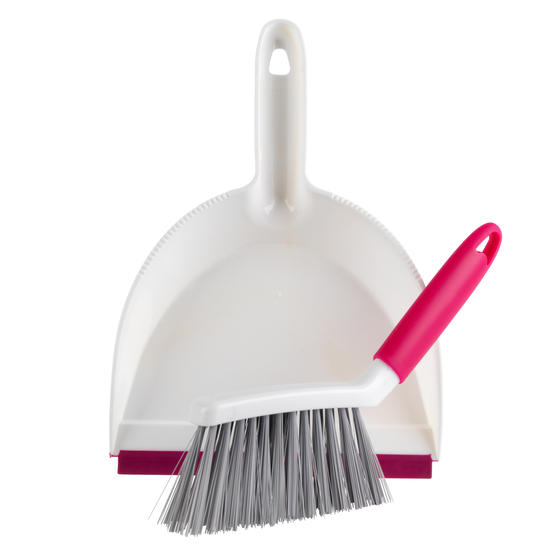 Kleeneze® Antibacterial Mini Dustpan and Brush Set