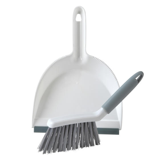 Beldray® LA082664UFEU7 Antibac Dustpan and Brush Set| Perfect for Worktops and Desks