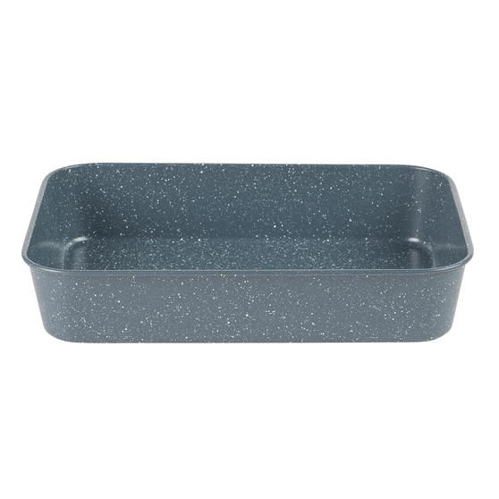 Russell Hobbs® RH01832EU Nightfall Deep Roaster | PFOA Free | Carbon Steel | 40cm | Blue Marble
