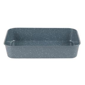 Russell Hobbs® RH01832EU Nightfall Deep Roaster | PFOA Free | Carbon Steel | 40cm | Blue Marble Thumbnail 1