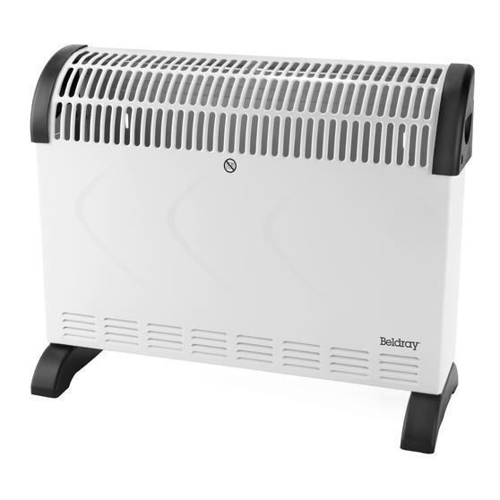 Beldray® EH3018SUK2 Portable Convector Heater | 3 Heat Settings | 2000 W