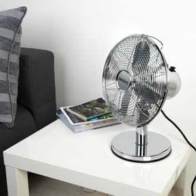 """Beldray® EH3266CH 10"""" Desk Fan with 3 Speed Settings and Adjustable Head 