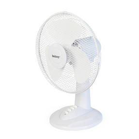 """Beldray® EH3401 12"""" Desk Fan with 3 Speed Settings and Adjustable Head   35 W   Ideal for Homes/Offices/Personal Workspace   White Thumbnail 3"""