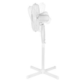 """Prolectrix® EH3403PRO 16"""" Pedestal Fan With Adjustable Head Height Upto 1.20m  Oscillation Function  3 speed settings  45 W  White Thumbnail 3"""