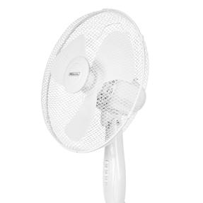 """Prolectrix® EH3403PRO 16"""" Pedestal Fan With Adjustable Head Height Upto 1.20m  Oscillation Function  3 speed settings  45 W  White Thumbnail 6"""
