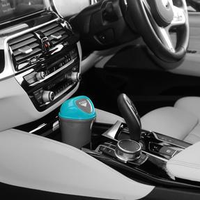 Beldray® LA082077EU7 Valet Mini Car Bin with Clip, Grey/Blue Thumbnail 5