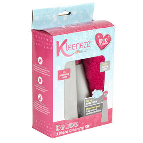 Kleeneze® KL081896EU7 Spray Bottle with Two Deluxe Cloths | Easy-to-Fill | Great for Cleaning Kitchens, Bathrooms, Mirrors and Windows | 250 ml Thumbnail 3